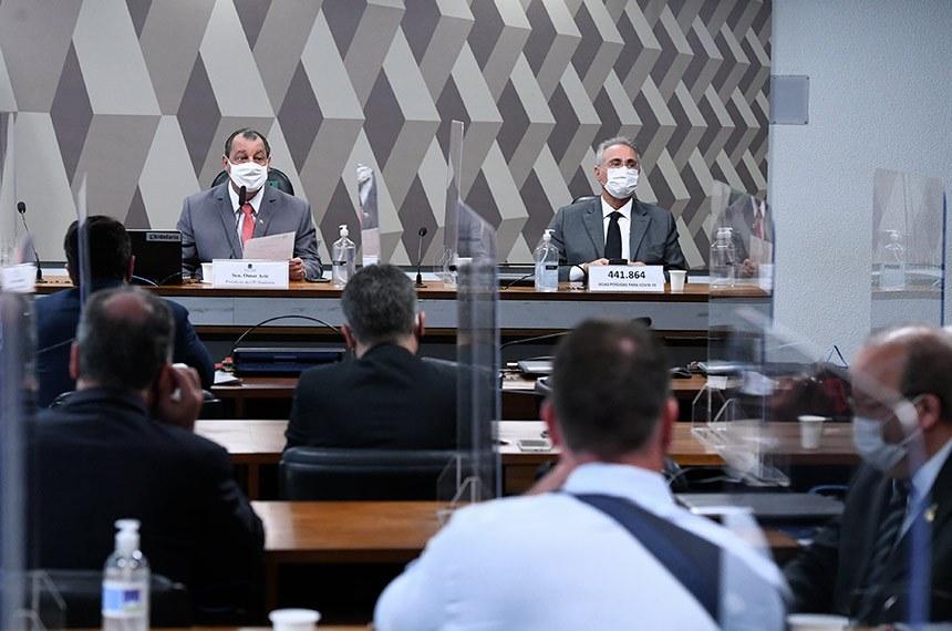 CPI 1 - CPI deve votar convocação de governadores e prefeitos nesta quarta (26)