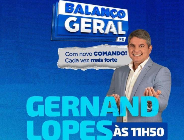 Capturar 145 - Gernand Lopes estreia na tela da TV Clube/RecordTV, em Pernambuco