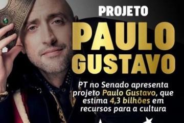 Capturar 48 - PT no senado apresenta projeto Paulo Gustavo, que estima 4,3 bilhões em recursos para a cultura