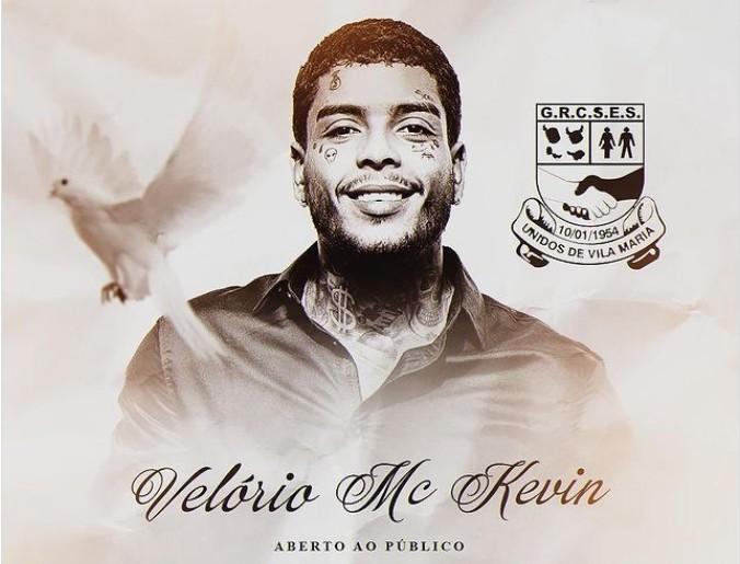 Capturar 82 - Velório de MC Kevin será aberto ao público em escola de samba de São Paulo