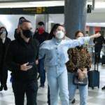 Capturar.JPGUJJ - ESBANJANDO CARISMA: Juliette faz festa em passagem relâmpago pelo saguão de aeroporto em SP