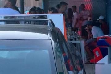 AGLOMERAÇÃO! Polícia Militar encerra festa clandestina na cidade de Juazeirinho