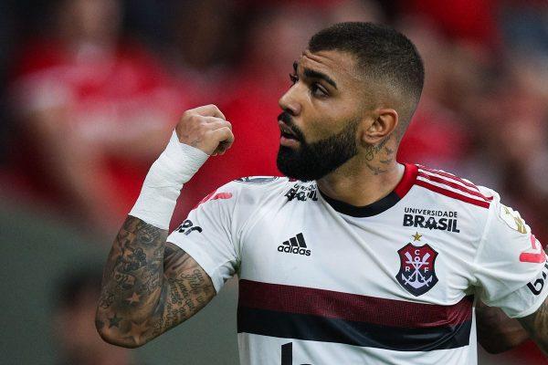 """Gabriel Barbosa 600x400 1 - Gabigol supera Pelé, Zico e celebra marca na Libertadores: """"Realizado"""""""