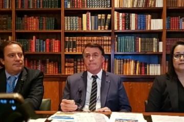 Jair Bolsonaro - Bolsonaro provoca Renan e anuncia passeio no Dia das Mães
