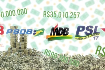 OS MAIS RICOS: saiba quais partidos da Paraíba mais arrecadaram com o Fundo Partidário e outros recursos