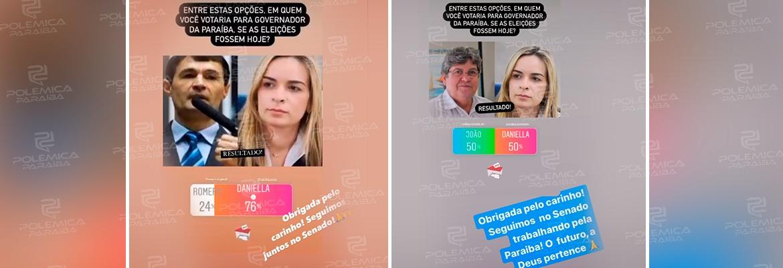 """WhatsApp Image 2021 05 24 at 10.19.55 - Daniella repercute enquete para governador contra Romero e João e deixa em aberto possível candidatura: """"O futuro a Deus pertence"""""""