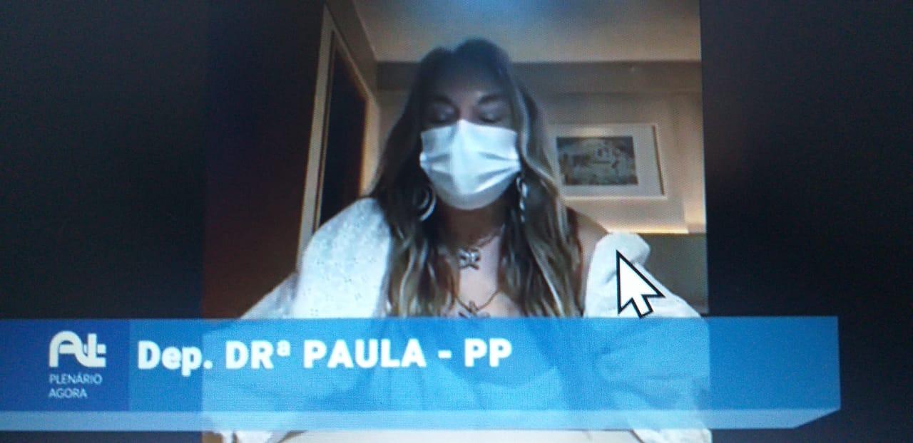"""WhatsApp Image 2021 05 25 at 10.15.14 1 - Drª Paula chama a atenção para a importância da campanha """"Maio Amarelo"""""""