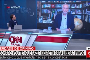 """alexandre garcia - Ao vivo, Alexandre Garcia ameaça deixar a CNN Brasil: """"Não sei se a gente volta"""" - VEJA VÍDEO"""
