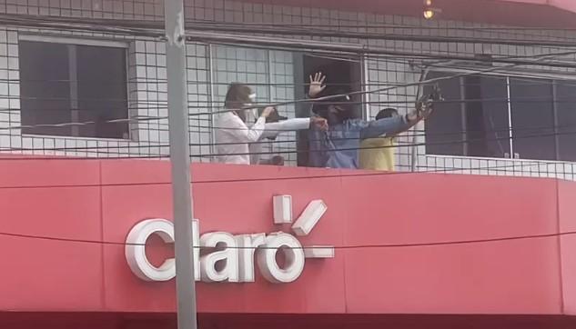 assalto print - Polícia prende três suspeitos de assalto com reféns em Campina Grande - VEJA VÍDEOS