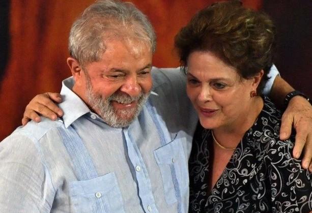 dilm - Lula relata conversa com Dilma e diz que ex-presidente está 'bem e falante'