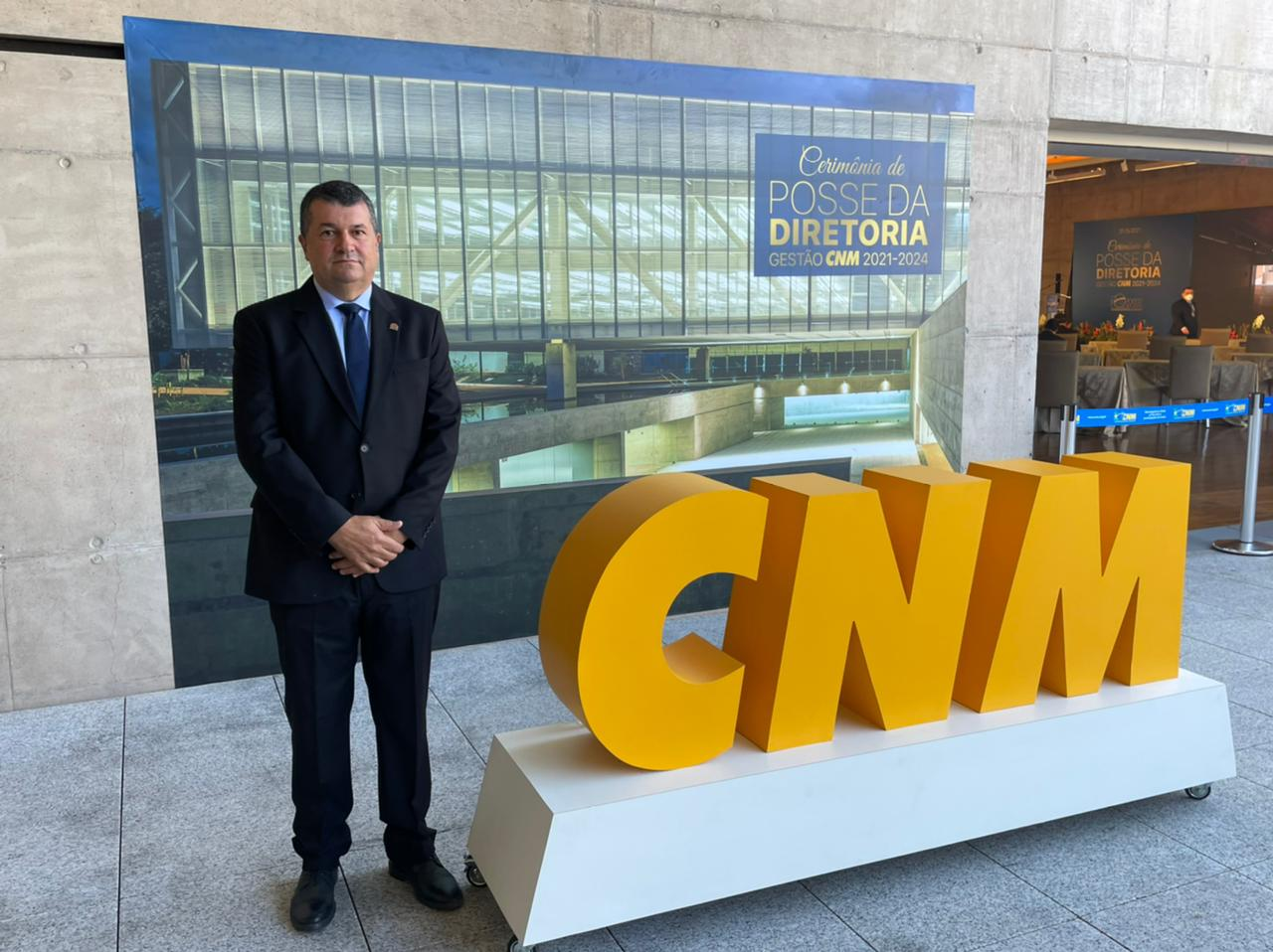 eecec748 932c f33a d083 c22cfb572e65 - George Coelho participa da posse da nova diretoria da CNM e destaca união em prol do municipalismo