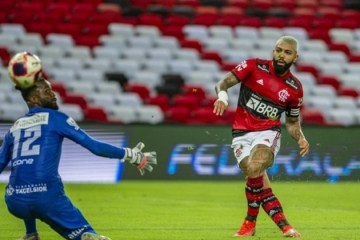 Gabigol briga pela artilharia do futebol brasileiro em 2021