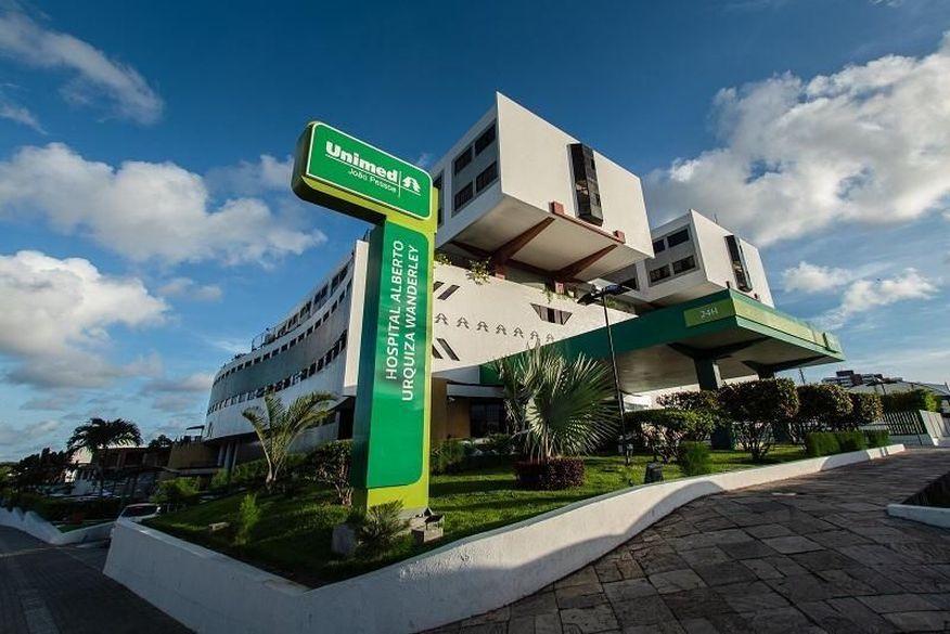 hospital alberto urquiza wanderley divulgacao - Após cinco semanas de queda, número de atendimentos de Covid-19 na Unimed em João Pessoa volta a subir