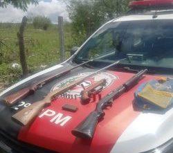 multirao 250x445 1 e1620472147743 - ESPINGARDAS, RIFLE E REVÓLVER: PM apreende cinco armas de fogo em Campina Grande