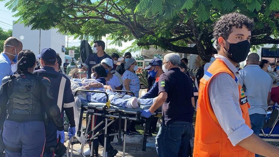 nestorpiva4 - Incêndio em hospital em Aracaju mata quatro pessoas