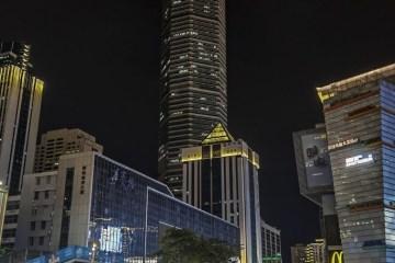 predio china - PÂNICO! Arranha-céu de 291 metros é evacuado na China após tremer - VEJA VÍDEO