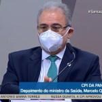 queiroga depoimento - ASSISTA AO VIVO: Marcelo Queiroga inicia depoimento na CPI da Pandemia