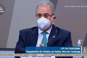 ASSISTA AO VIVO: Marcelo Queiroga inicia depoimento na CPI da Pandemia