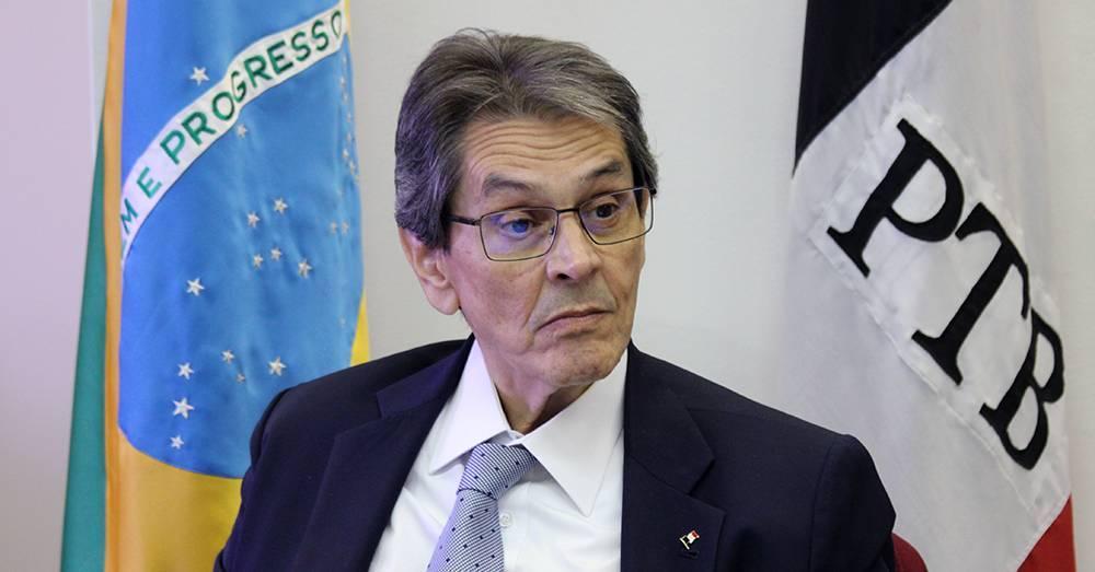 roberto jefferson 21022021074951423 1 - SOB NOVA DIREÇÃO: reuniões em Brasília devem decidir futuro do PTB na Paraíba