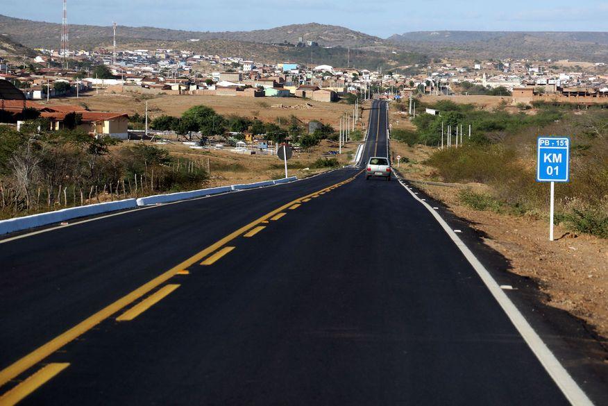rodovias estaduais - João Azevêdo anuncia licitação de programa de novas obras rodoviárias da Paraíba