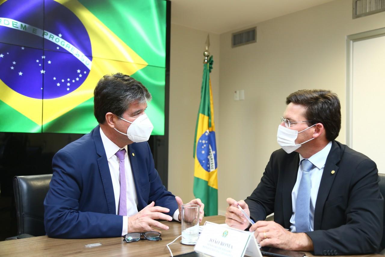 unnamed 9 - Ruy Carneiro participa de audiência com Ministro da Cidadania, João Roma
