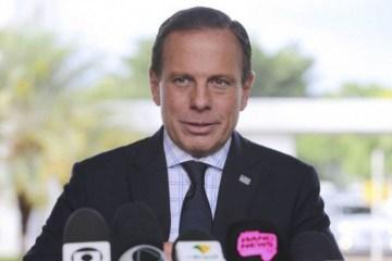 """João Doria chama Bolsonaro de """"Messias da morte"""", critica seu partido e cita Ruy Carneiro como nome para disputa na PB em 2022"""