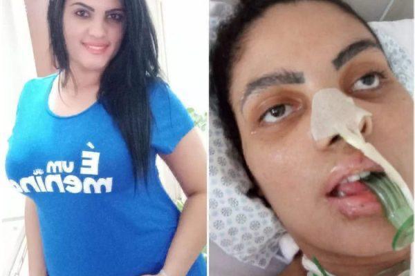 3AE426EE 5348 48FA BE03 6FDF71713AD6 - IRREVERSÍVEL: Após contrair Covid-19, mulher de 26 anos se encontra em estado vegetativo