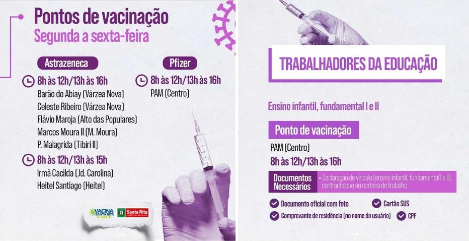 426f1e3659e6d586e61646095422a96a - Santa Rita amplia vacinação contra Covid para pessoas com idade a partir de 55 anos