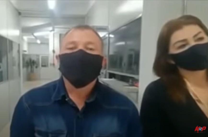 """Capturar 5 - """"A OUTRA"""": Em vídeo com a primeira-dama, vereadora anuncia namoro com o prefeito - VEJA VÍDEO"""