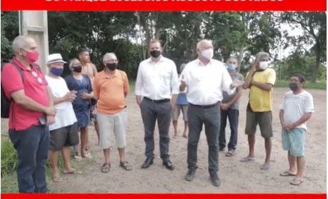 Capturar.JPGrff - Vereador Marcos Henriques e moradores cobram requalificação do Parque Ecológico Augusto dos Anjos - VEJA VÍDEO