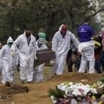 CemiterioCovid - Covid: Com 2.673 novas mortes, Brasil volta a ter média acima de 2 mil
