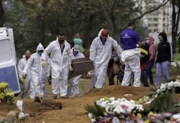 Covid: Com 2.673 novas mortes, Brasil volta a ter média acima de 2 mil