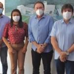 IMG 20210618 WA0110 750x430 1 - Eduardo Carneiro e prefeita Adelma se reúnem com Desdete Queiroga e conseguem melhorias para infraestrutura de rodovias em Pitimbu