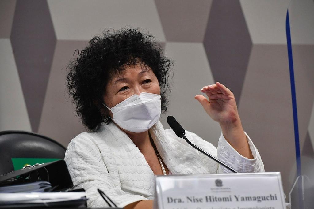 Nise Yamaguchi - Nise Yamaguchi diz que sofreu massacre moral e processa senadores da CPI, diz site