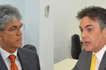 """RICARDO E CASSIO e1623664099731 - Senador em 2022: Cássio ou Ricardo? """"Duelo de Gigantes"""" - Por Gildo Araújo"""