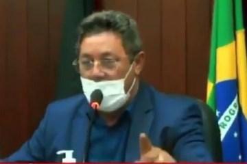 SANTA RITA - CADÊ O DECORO? Clima esquenta na Câmara de Santa Rita e vereador manda colega 'enfiar a língua naquele canto'; VEJA VÍDEO