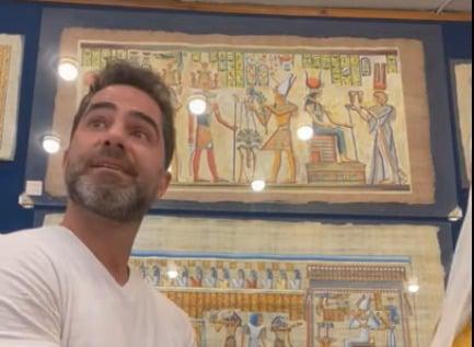 Victor Sorrentino - Médico brasileiro investigado no Egito por assédio sexual pediu desculpas a vendedora antes de ser detido: 'É uma brincadeira' - VEJA VÍDEO