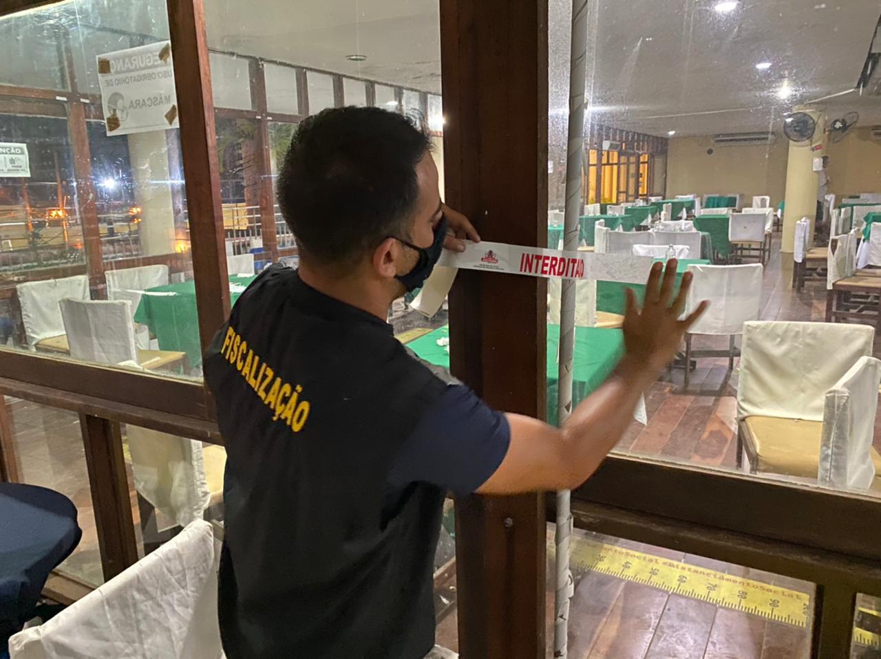 WhatsApp Image 2021 06 04 at 22.09.32 - Boate Clube Cabo Branco é interditada após jantar dançante, em João Pessoa - VEJA VÍDEO
