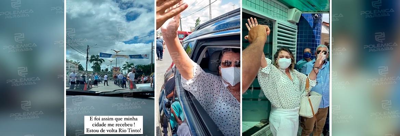 WhatsApp Image 2021 06 07 at 14.02.44 - Recuperada da Covid-19, prefeita paraibana volta ao cargo com festa e aglomeração na cidade - VEJA VÍDEO