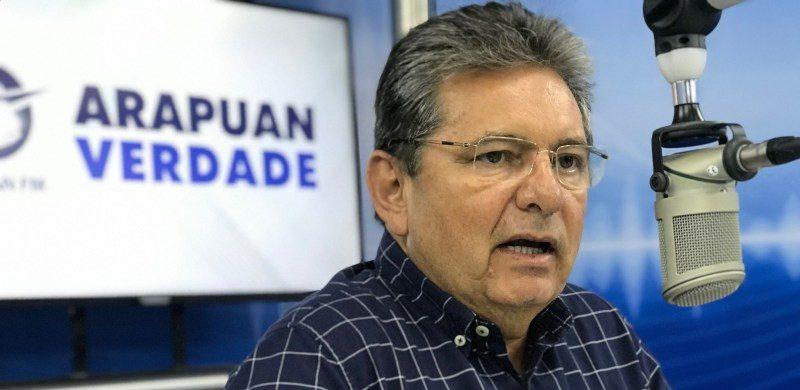 """adrianogaldinoarapuanverdade e1624301472234 - Adriano Galdino diz que o Avante quer ser """"ouvido"""", defende o nome de Lula para 2022 e afirma que Cabo Gilberto usa a ALPB para fazer palanque"""
