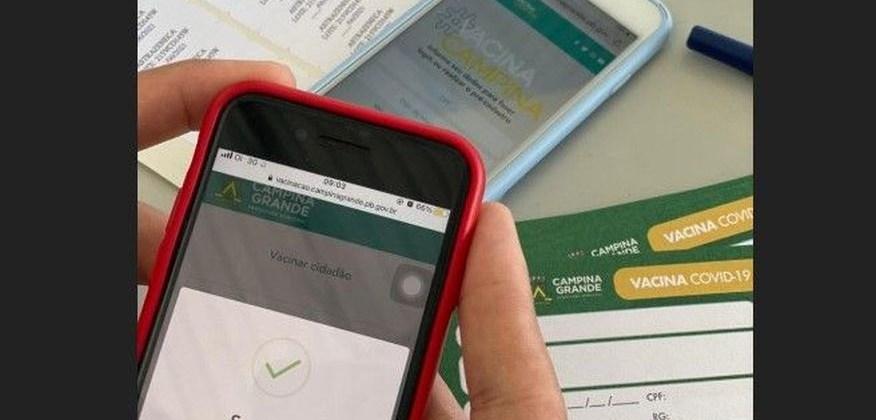 Campina Grande lança aplicativo para cadastro e agendamento da vacinação contra Covid-19
