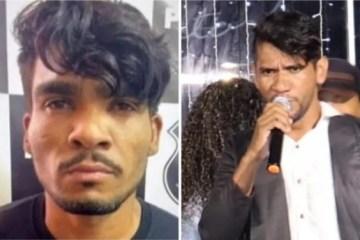 cantor e lazaro - Cantor é confundido com Lázaro, serial killer procurado pela polícia, e faz vídeo com apelo nas redes sociais - VEJA VÍDEO