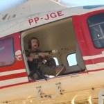 """deputada - Com fuzil e helicóptero, deputada sai """"à caça"""" de Lázaro: """"Estou indo aí te pegar"""" - Veja vídeo"""