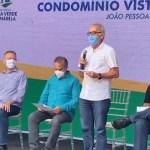 entrega cicero - ASSISTA AO VIVO: Ministro Rogério Marinho cumpre agenda na PB e entrega junto com PMJP apartamentos para 192 famílias