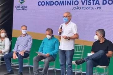 entrega cicero - ASSISTA: Ministro Rogério Marinho cumpre agenda na PB e entrega junto com PMJP apartamentos para 192 famílias
