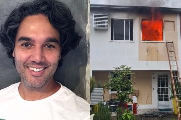 """fernando sampaio - Incêndio atinge casa de Fernando Sampaio e ator perde tudo: """"Não sobrou nada"""" - VEJA FOTOS"""
