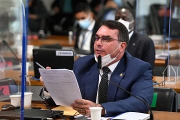 flavio bolsonaro divulgacao senado federal - Após levantar suspeitas sobre a gestão de hospitais federais do Rio na CPI, Witzel revelou que o 'dono' deles é Flávio