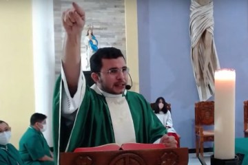 """Padre pede para fiéis não irem a visita de Bolsonaro ao RN: """"pecado grave"""" – VEJA VÍDEO"""