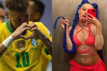 infl - Influenciadora admite affair com Neymar e declara: 'Beija bem'