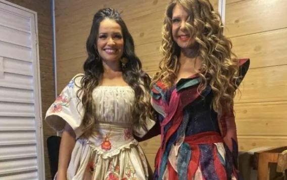 juliette e elba - Perdeu a live de Elba Ramalho com participação de Juliette? Reveja show na íntegra
